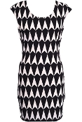 Graphic Arrowhead Dress