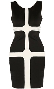 Gridlock Girl Dress