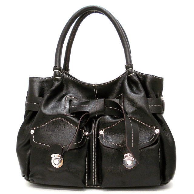 Entwined Leather Bag