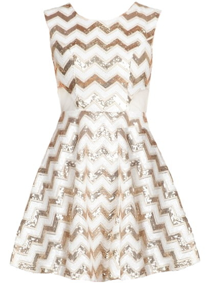 in Sparkling Sequins With