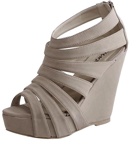 Starburst Strap Wedge