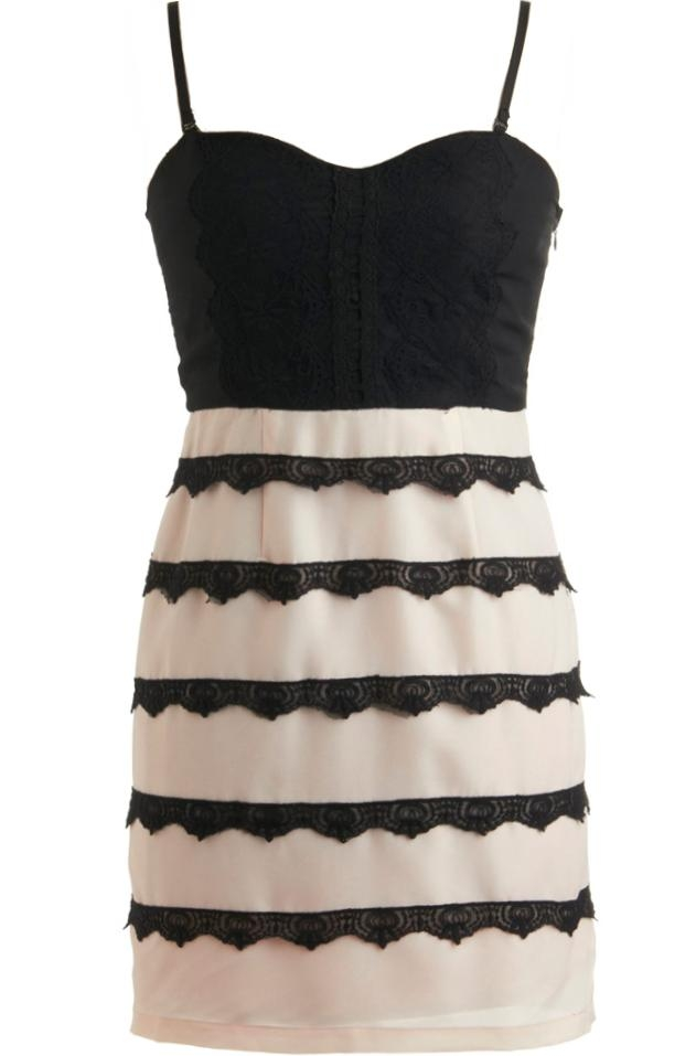Licorice Lace Dress