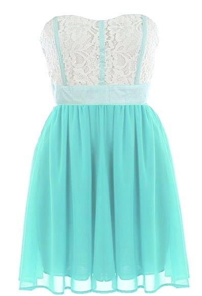 Mint Garnish Dress