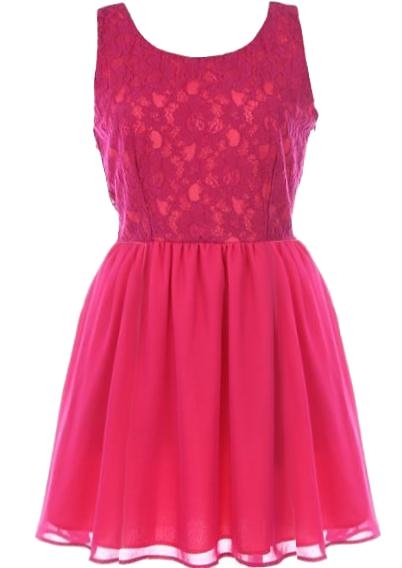 Fuchsia Flirtation Dress
