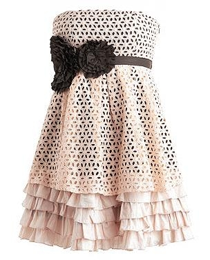 Eyelet Extravaganza Dress