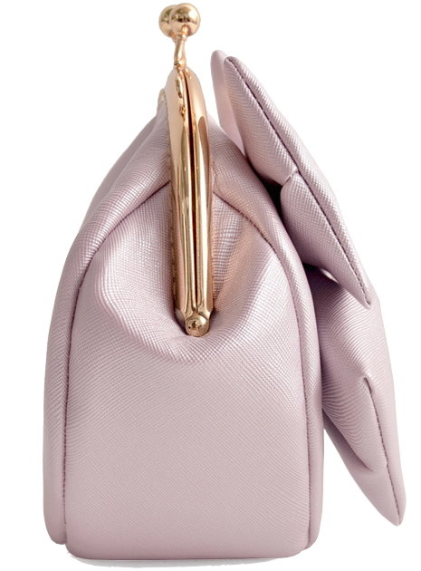 Light Purple Bow Clutch