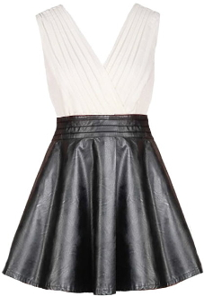 Leather Empress Dress