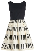 Piano Player Dress