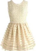 Creamsicle Ribbon Dress